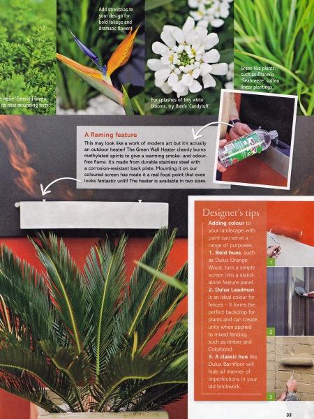 Courtyard creation pod gardens for Better homes and gardens courtyard ideas