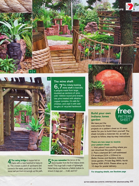 Temple of fun pod gardens Better homes and gardens website australia