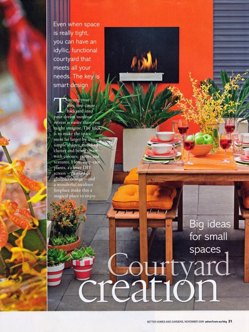 Courtyard creation pod gardens for Creation gardens